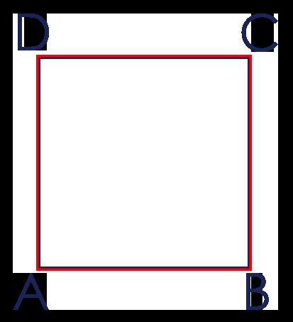 Umfang des Quadrates